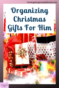 Organizing gifts for the men in your life to take the stress out of shopping for your man. They will love these ideas to help them create a space they love. These are the best gifts for husbands and people that you live with or know well. #giftsforhim #gifts #giftguide