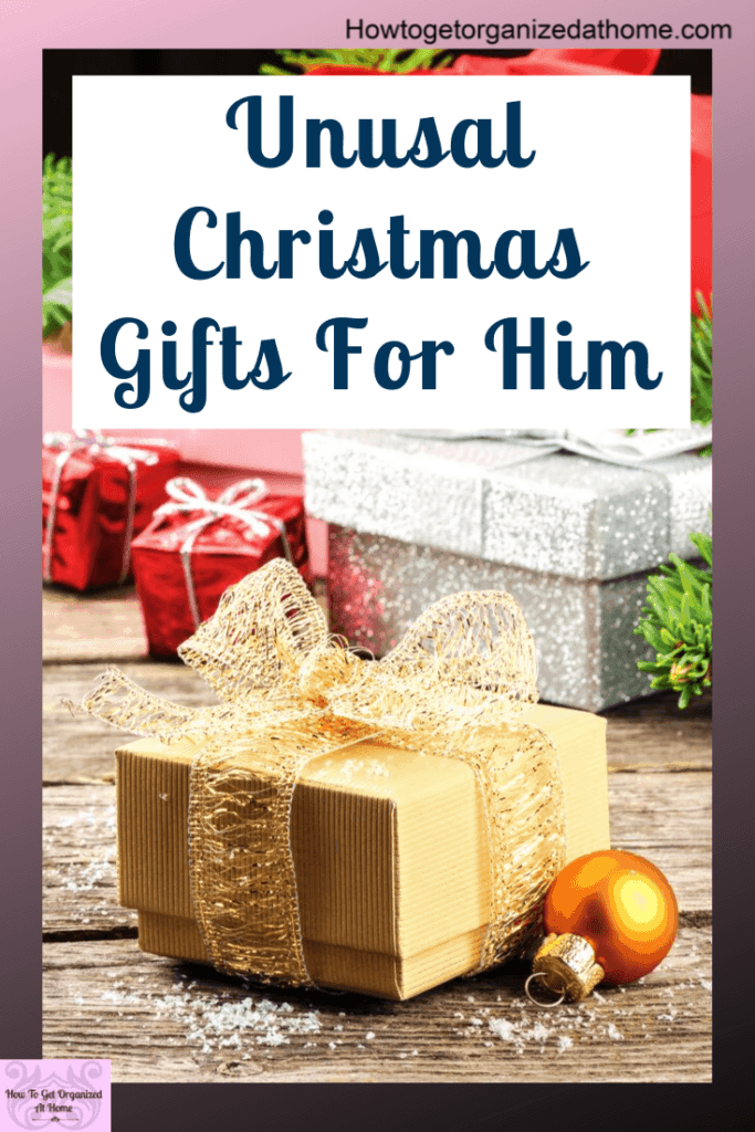 Are you looking for some great organizational gifts for the men in your life? I've got some great ideas to inspire you. They are practical and useful gifts that he will love. #giftsforhim #gifts #giftguide