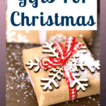 Christmas gifts for women don't have to be difficult you need to get inspired and then think about the person and the budget you have. Once you have an idea it makes buying gifts so much easier. #gifts #giftsforher #christmasgifts