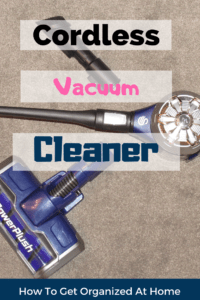 Looking for the best cordless vacuum cleaner? I love the Swan Powerplus codrless stick vacuum cleaner so much that I wrote an honest review. You can read all about it here! #vacuum #cordlessvacuum #cleaning