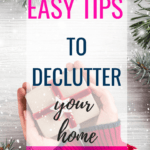 Are you wanting to start decluttering your home before the holiday's? These simple tips and ideas on how to purge your clutter will help you find the love for your home and all the items in it. #clutter #purge #christmas