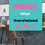 Simple strategies and tips to help you manage the overwhelm when you are tryng to simplify your home before the holidays. Know what you need to do to get rid of the unnecessary items that are making you feel stressed by the mess.