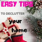 Create a plan to simply and easily declutter your home before the holidays. It will make space for the new items and it will make your house in to the home you want and love. #purge #clutter #purgeyourclutter