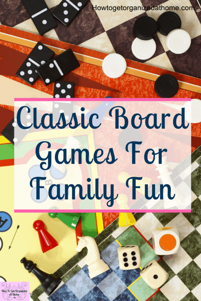 Simple and easy board games for kids and families to have fun quality time together having fun. These classic board games are family friendly and lots of fun. #christmas #boardgames #familyfun