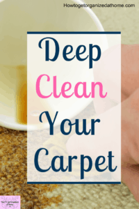 Are you looking to deep clean your carpet before the holiday's but don't know where to start? Check out these tips and ideas on how to make your carpet smell fresh and clean before your guests all start arriving for the holiday season. #carpetcleaning #sp #cleaning