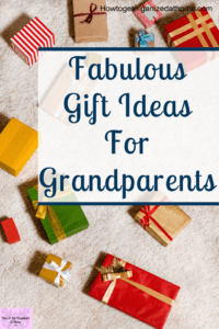 Are you looking for gift ideas for grandparents? It's tough they often have what they want and the money to buy things too. So, how do you come up with gifts from their grandchildren that they will love? #gift #giftideas #giftsforgrandparents