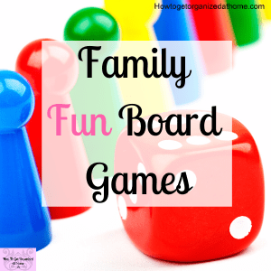 When it comes to family there is nothing better than a board game to make some memories and share quality time together.