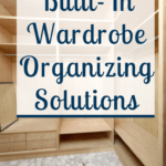 Make your closet the best it can look with these simple yet practical closet organizing solutions that will make organizing your clothes easy. Don't take my word for it check out these tips and ideas now. #closet #wardrobe #organize
