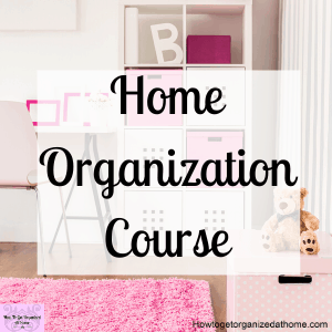 A brand new course from Abby Lawson about organizing your home. It's broken into 6 projects which Abby walks you through tackling these areas in your home. She provides a workbook for each area.