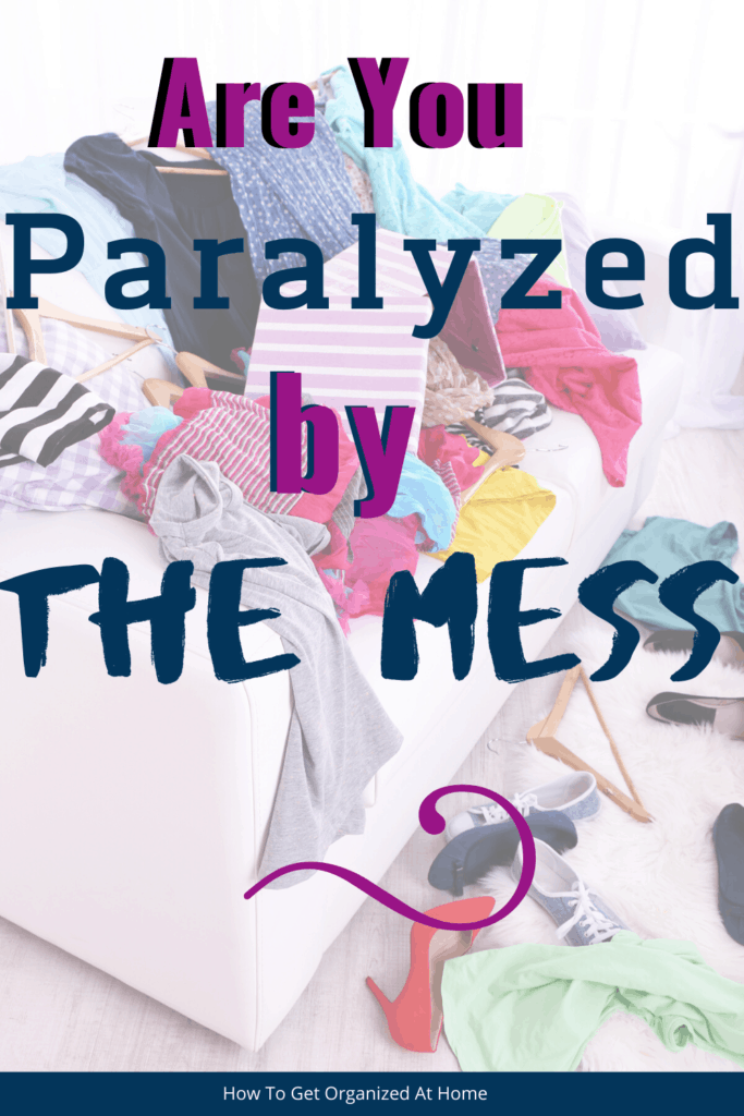 Don't get overwhelmed by your messy house, learn the tips and tricks I use to stay on top of the mess and get my home clean and tidy. #clean #messfree #cleaning