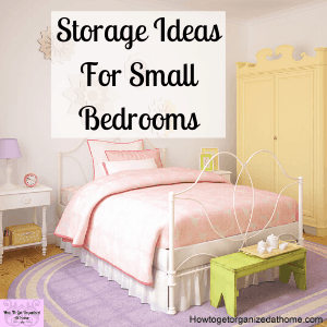 Is your bedroom organization lacking? Do you find organizing clothes and bedroom items difficult because you don't have much space? Check out these ideas for small bedroom organization tips.