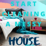 Are you struggling to work out where to start to clean your messy home? Check out these tips and ideas on how to get your home clean and mess free. Don't become paralyzed by the mess, learn the tips you need to take back your home. #mess #cleaning #messyhome
