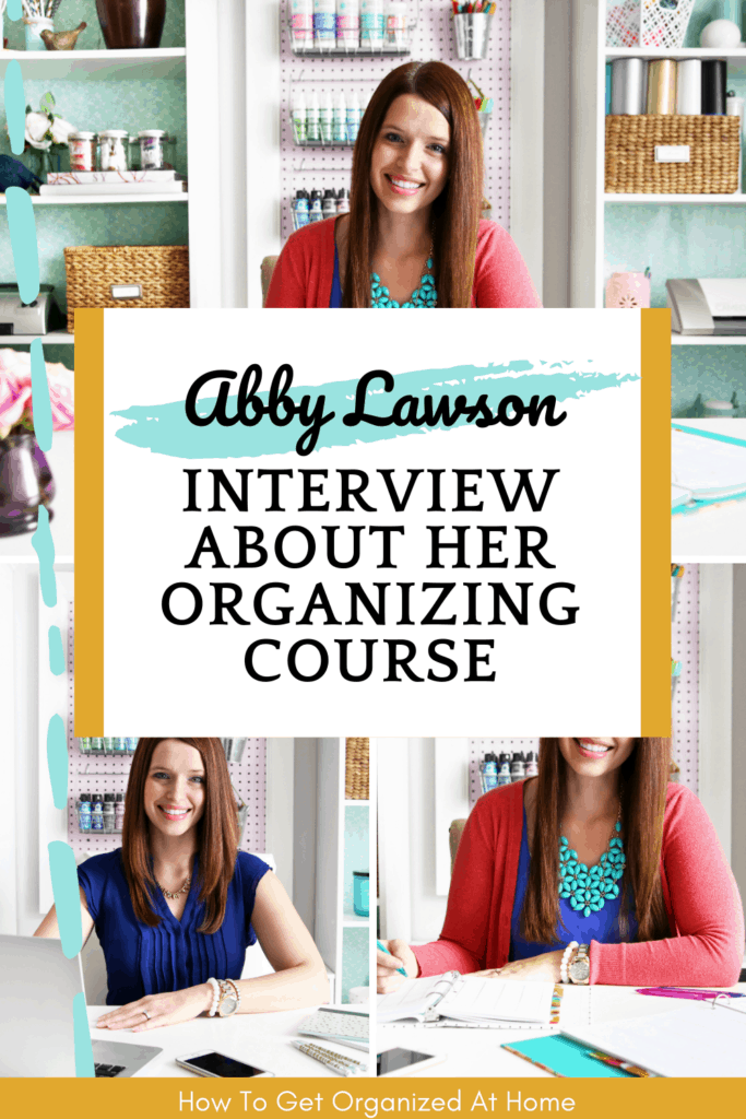 Do you want to learn more about Abby Lawson and her course Impactful Habits, Organized Home? Check out this interview by clicking the link. #abbylawson #impactfulhabits #organziedhome