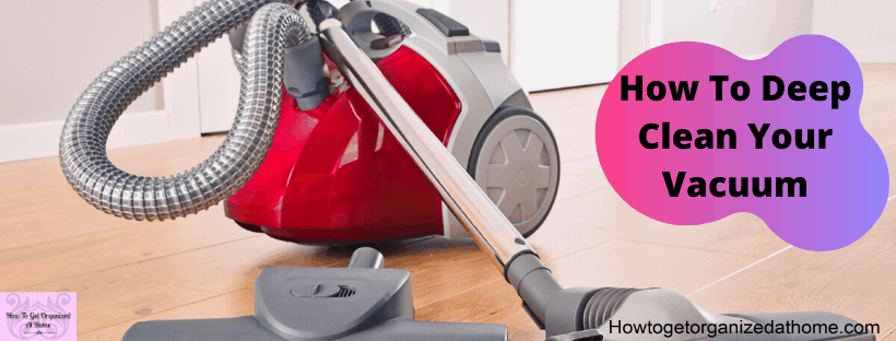 Are you looking to make your vacuum cleaner smell better? You need to consider giving it a deep clean, if you wash the filters make sure they are dry before putting them back!