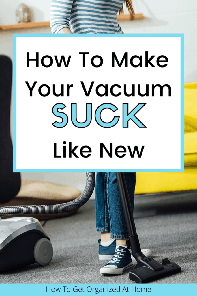 Are you looking at your vacuum and wishing that it worked as well as it used too? It might just need a clean to get its performance back, check out the tips and ideas in this article. #vacuuming #vacuumcleaner #vacuuming