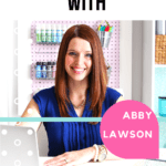 Abby Lawson, the owner of Just A Girl And Her Blog agreed to an interview about her new course Impactful Habits, Organized Home. #abbylawson #impactfulhabits #organizedhome