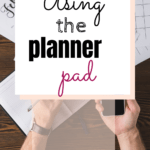 When it comes to planners, I've reviewed a lot. I'm a planner addict because I haven't found a planner that I want to continue to use long-term, that is until now! Introducing the Planner Pad I'm in love with it, it's amazing. Click the link to read more about it. #plannerpad #planner #organizer