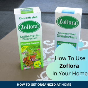 Image of Zoflora. Concentrated disinfectant