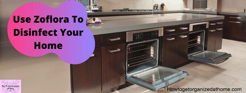 Kitchen highlighting Zoflora uses