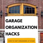 garage organization, garage doors