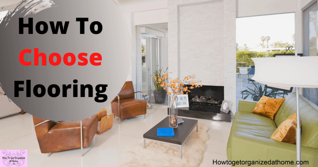 How do I choose the best type of flooring for my living room? Check out this helpful guide that will help you decide what's best for you and your family's needs. #sp