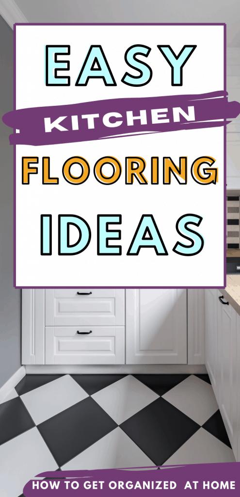 different types of kitchen flooring