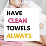 silver towels