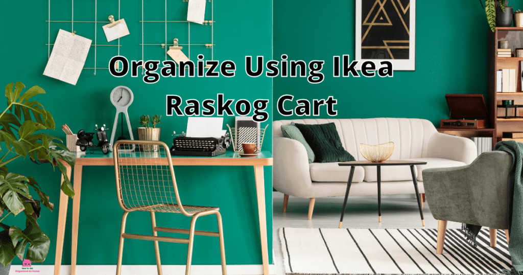 Organize Using Ikea Raskog Cart